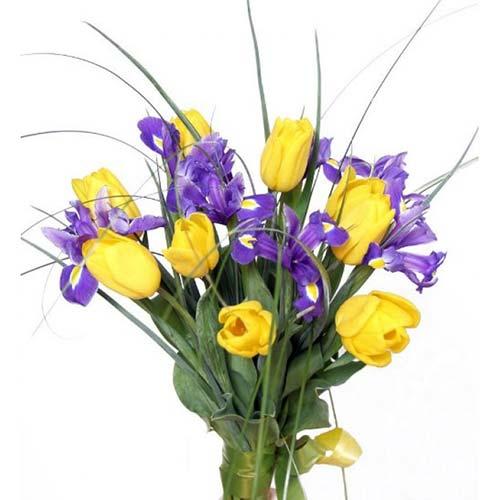 Букет из семи тюльпанов — img 3